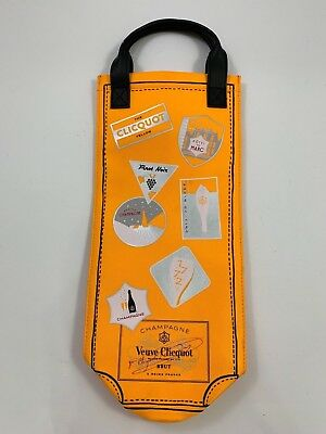 New Veuve Clicquot Champagne Wine Carry Jacket Cover Sleeve Insulated Gift Bag