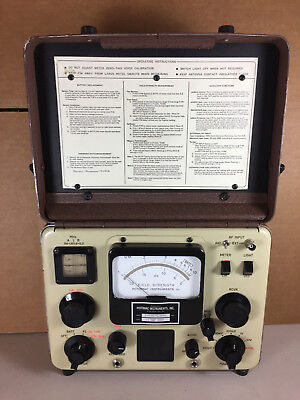 Potomac Instruments Model FIM-41 Field Strength Meter