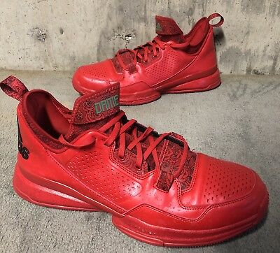 buy online 1b1eb 445e7 Adidas D Lillard 1 Rose City Size 13 VNDS Red Dame PE 2 3 4
