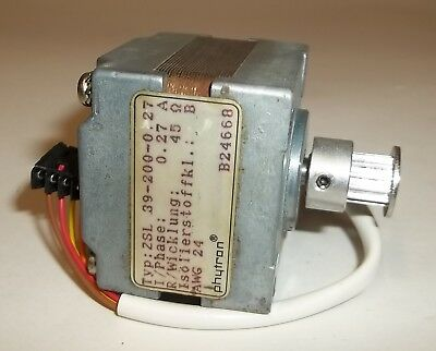 Phytron 4-Wire Industrial 2-Phase 39mm 200 Steps Stepper Motor ZSL-39-200-0.27