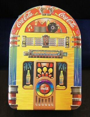 Coca Cola Juke Box Tin 1997