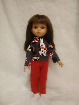 """Paola Reina 32cm 13""""-14"""" Doll Tracksuit Clothes Girls"""