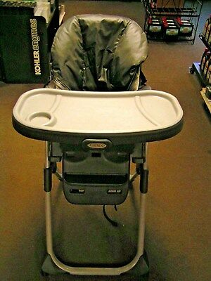 Graco Adjustable Child S High Chair Rolling Reclining