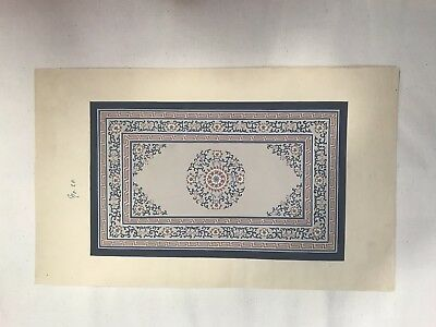 chinese antique Silk Rug Painting