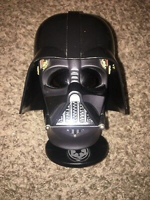 STAR WARS Helmet Collection #1 DARTH VADER 1:5 Scale Figure On Base In Case