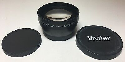 Vivitar HD4 MC AF High Definition 2.2X  Telephoto Converter Japan Optics 0530513