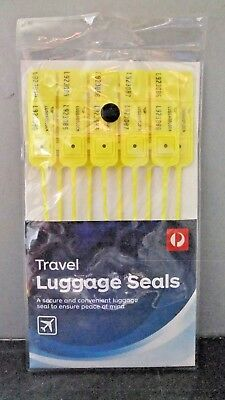 """Travel Luggage Seals"" Packet of 10"
