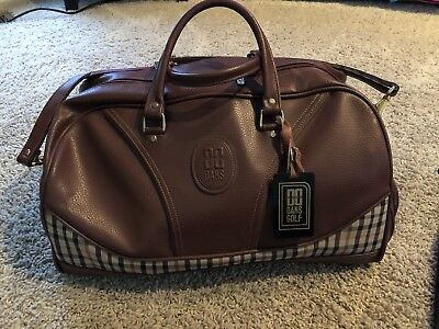 Daks London Golf Duffle Bag W Adjule Strap Handles Drawstring
