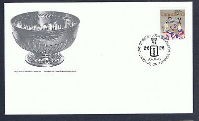 Canada FDC - 1993 - Stanley Cup Scott # 1460