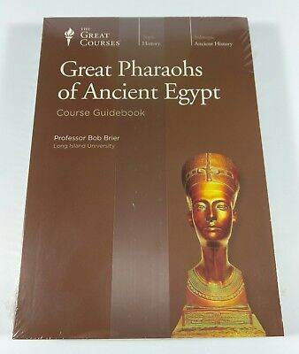 The Great Courses® GREAT PHARAOHS OF ANCIENT EGYPT (2 DVDs) Prof. Bob Brier NEW!