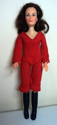 CHARLIES ANGELS Vintage Celebrity DOLL in original outfit & boots approx 23cm