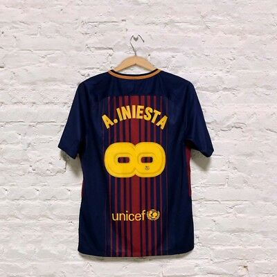 reputable site 0d56b 66c2b INFINIT INIESTA-SPECIAL EDITION Jersey name set for FC Barcelona stadium  jerseys