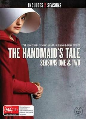 The Handmaids Tale Seasons 1 & 2 BRAND NEW Region 4 DVD