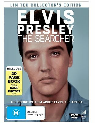 Elvis The Searcher Limited Collector's Edition BRAND NEW Region 4 DVD