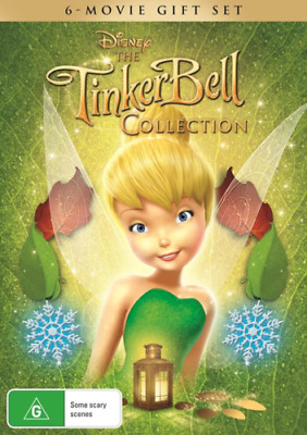 The Tinker Bell 6 Movie Collection Tinkerbell BRAND NEW Region 4 DVD