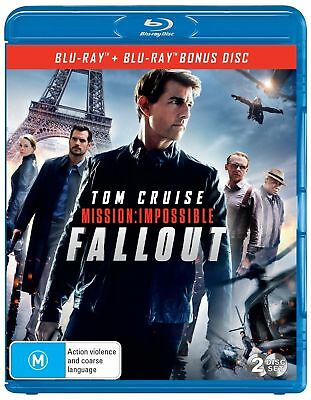Mission Impossible Fallout Blu-ray BRAND NEW Region B