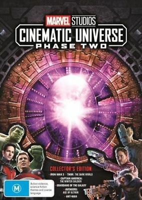 Marvel Studios Cinematic Universe Phase Two 2 BRAND NEW Region 4 DVD