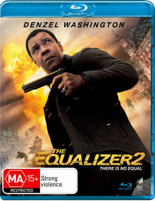 The Equalizer 2 Blu-ray BRAND NEW Region B