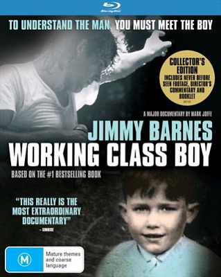 Jimmy Barnes Working Class Boy Blu-ray BRAND NEW Region B
