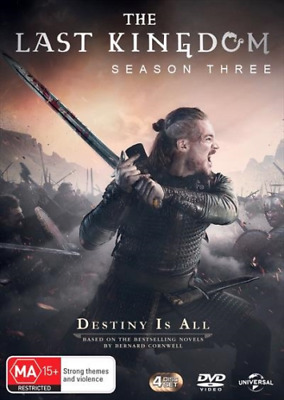 The Last Kingdom Season 3 BRAND NEW Region 4 DVD