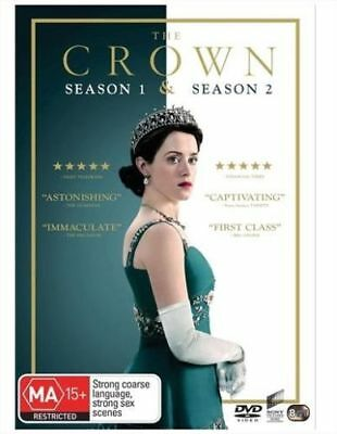 The Crown Season 1 & 2 BRAND NEW Region 4 DVD