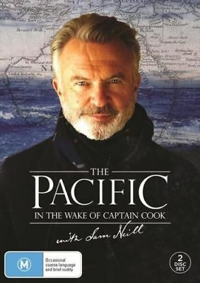The Pacific In The Wake Of Captain Cook With Sam Neill BRAND NEW Region 4 DVD
