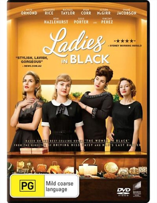 Ladies In Black BRAND NEW Region 4 DVD