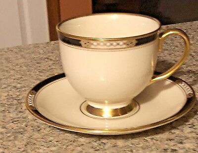Lenox Presidential Collection HANCOCK Gold Cup and Saucer Set