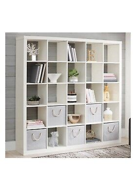 Better Homes And Gardens 25 Cube Organizer Room Divider Wood White