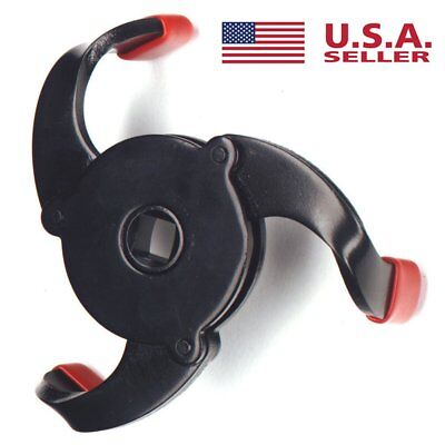 Universal Two Way 3 Jaw Auto-Adjust Oil Filter Wrench 55-100mm Range MA