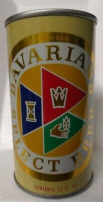 Bavarians Select Tab Top  Straight Steel Old Beer Can