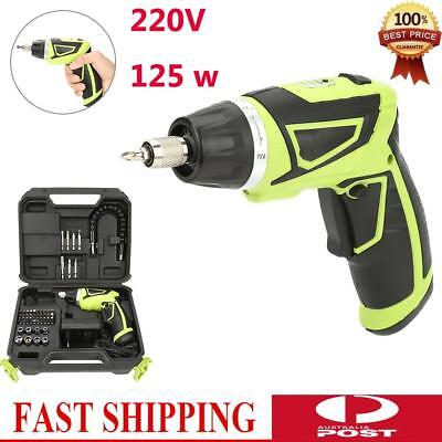 1 set 7.2V Rechargeable Handheld Cordless Electric Drill Screwdriver Kit 220V AU