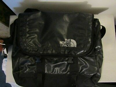 The North Face Messenger Computer Carry On Bag Black Waterproof Large Size