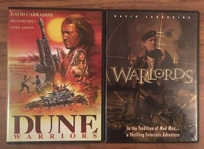 Dune Warriors/Warlords/Code Red/Post Apocalyptic/David Carradine/Exploitation!!!