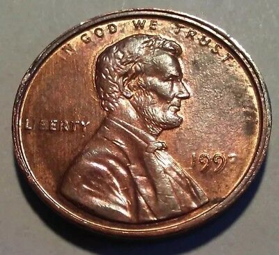 "199? Penny Missing ""i"" in liberty with multiple double die obverse and reverse."