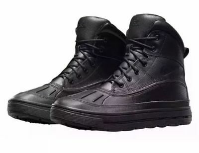 Nike Youth WOODSIDE 2 HIGH GS Shoes/Boots SZ-6Y Black/Black 524872-001 MSRP $85