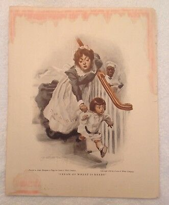 Cream of Wheat is Ready,Advertisement,The Etude Magazine,James Montgomerry Flagg