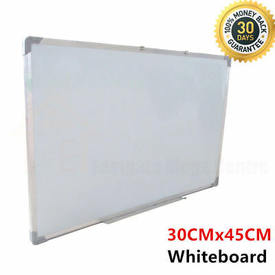 Magnetic New White Board 35x50cm Portable Whiteboard Aluminium Frame Home Office