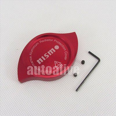 CNC Nismo Anodized Billet Aluminum Red Radiator Cap Cover For Nissan
