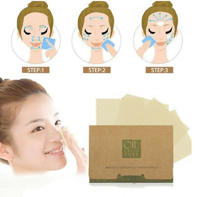 Oil Absorbing Oil Control Blotting Paper Skin Care Suction Cleaning Sheet