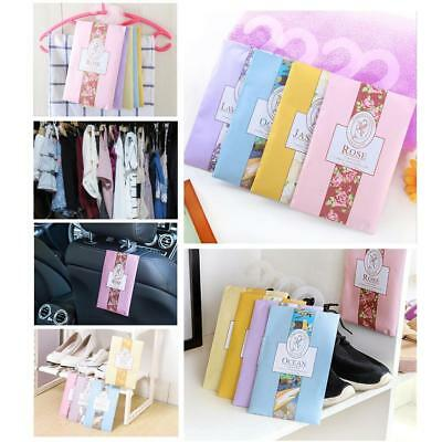 Flower Scented Hanging Wardrobe Sachet Freshener Fragrance Closets Drawer Bag