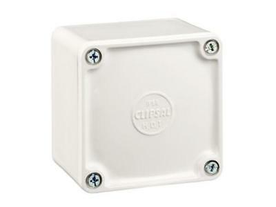Clipsal PVC ADAPTABLE BOX White *Australian Brand- 77x77x54mm Or 108x108x76mm