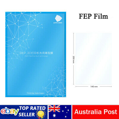 AU Stock FEP Film for Resin 3D ANYCUBIC SLA/DLP Photon printer 140x200mm