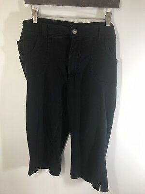 b0dd165b548 Apollo Jeans Womens Plus Size 24 Athleisure Cropped Cotton Stretch Pants F1
