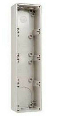 Clipsal INDUSTRIAL MOUNTING ENCLOSURE 391x101x63mm 4-Gang, Grey *Aust Brand