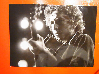 AK Postkarte  Bob Dylan Werbekarte zum Album more blood, more tracks 2