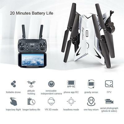 RC Drone Quadcopter With 5MP HD Camera WIFI 6-Axis 4CH Foldable Altitude Hold UK