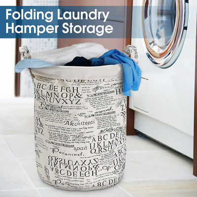 House Storage Bag Kids Toys Dirty Clothes Basket Laundry Diamante Washing Bin