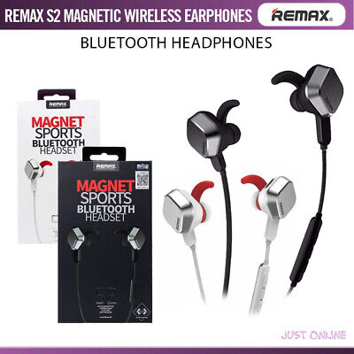 Remax S2 Tws Wireless Bluetooth Earphones Magnetic Headphones For Iphone Android 26 04 Picclick Uk