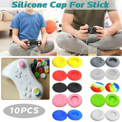 10 Rubber Thumb Stick Cover Grip Caps For PS4 PS3 XBOX One/360 Analog Controller
